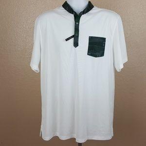 Puma Dry Cell Men's Polo Golf Shirt Size XL White